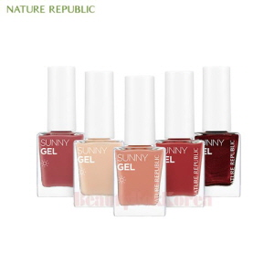NATURE REPUBLIC Sunny Gel Nail 8.5ml [2018],NATURE REPUBLIC